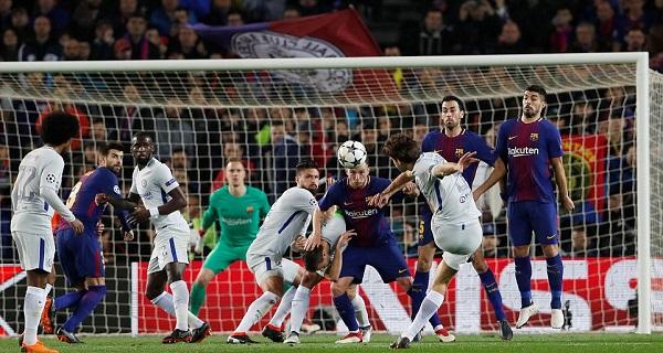 Messi lập cú đúp, Bacra nhấn chìm Chelsea tại Nou Camp - Hình 1
