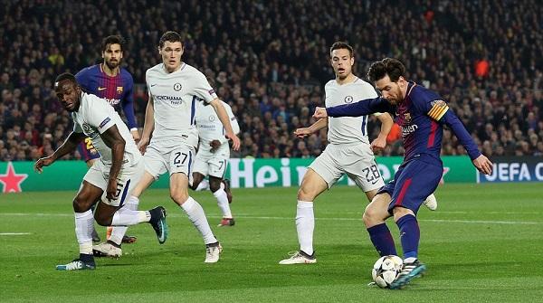 Messi lập cú đúp, Bacra nhấn chìm Chelsea tại Nou Camp - Hình 2