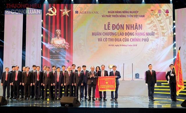 Thủ tướng dự lễ kỷ niệm 30 năm thành lập Ngân hàng Agribank - Hình 3