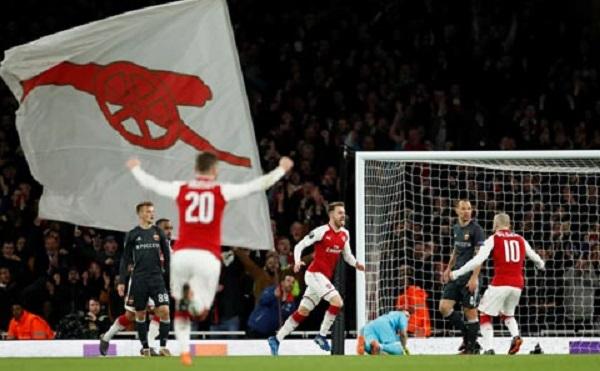 Europa League: Vùi dập CSKA, Arsenal sớm đặt vé vào bán kết - Hình 1