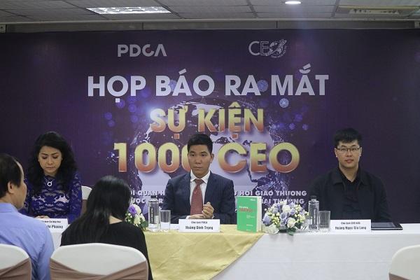 1.000 CEO sẽ chia sẻ thất bại, kinh nghiệm thành công tại Hà Nội - Hình 1