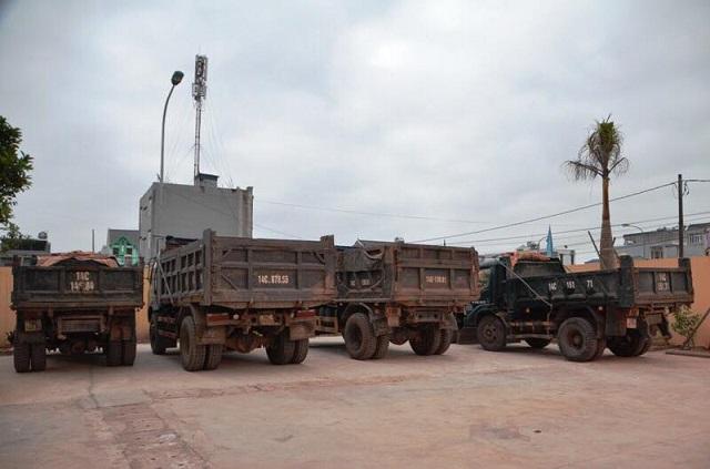 Quảng Ninh: Bắt giữ đối tượng khai thác đất trái phép - Hình 1