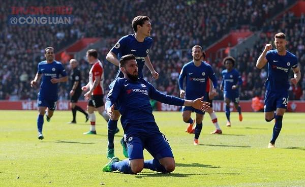 Giroud lập cú đúp, Chelsea lội ngược dòng ngoạn mục trước Southampton - Hình 2