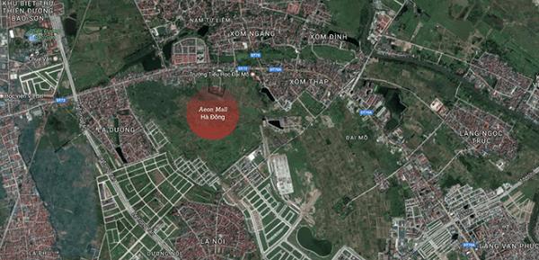 Phê duyệt chỉ giới đường đỏ 4 tuyến đường quanh bệnh viện quốc tế và AEON Mall Hà Đông - Hình 1