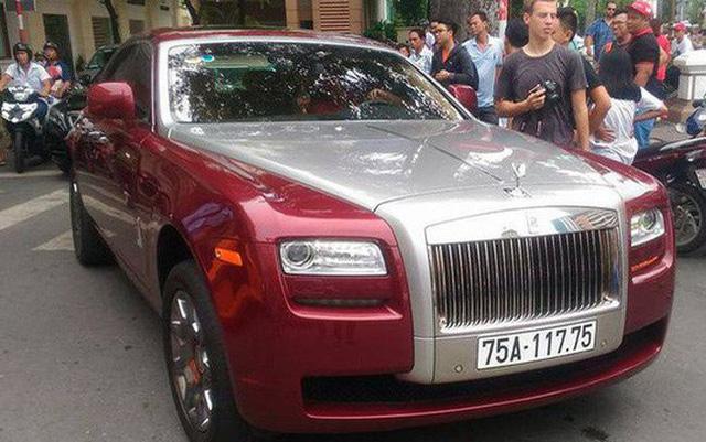 Đại gia Huế chơi Rolls-Royce Ghost biển ngũ quý 1 hơn 11 tỷ đồng - Hình 1