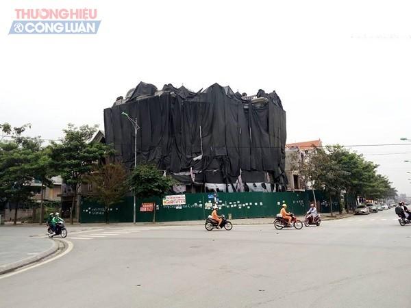 Hà Nội: Cưỡng chế công trình vi phạm trật tự xây dựng tại KĐT Thành phố Giao lưu - Hình 3