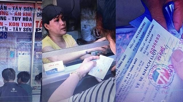 TP. HCM: HTX Thống Nhất bán vé xe giả để trốn thuế - Hình 1