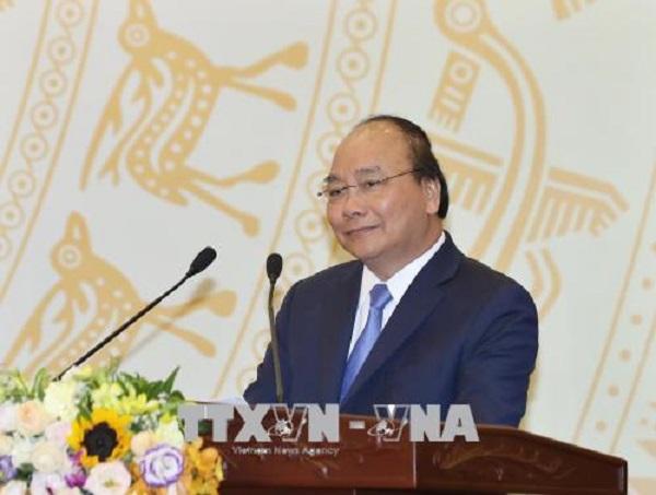 Thủ tướng Nguyễn Xuân Phúc gặp mặt các cơ quan thông tấn, báo chí - Hình 2