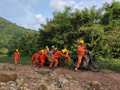 Điện lực Quảng Ninh: Nỗ lực khắc phục sự cố cáp ngầm cấp điện tại Cô Tô, Vân Đồn - Hình 2