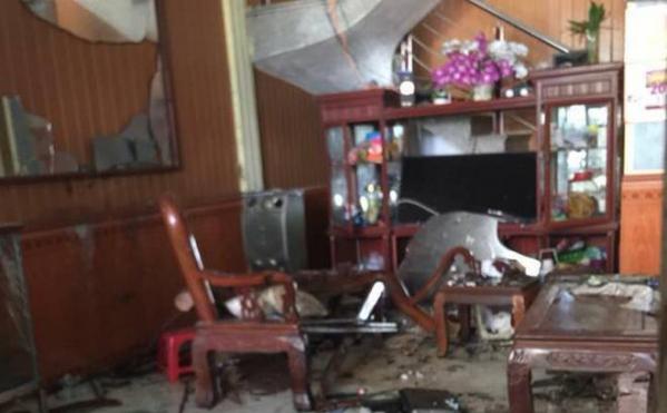 Thái Bình: Con rể nổ mìn nhà bố vợ, 3 người thương vong - Hình 1