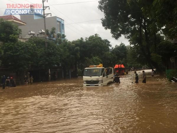 NÓNG: Cận cảnh hình ảnh nhiều địa phương trong tỉnh Hà Giang bị ngập lụt do mưa lớn - Hình 6