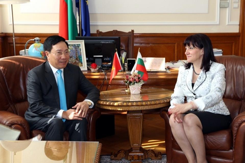 Việt Nam-Bulgaria nhất trí đưa hợp tác kinh tế lên tầm cao mới - Hình 1