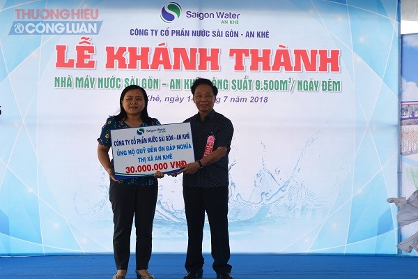 Gia Lai: Khánh thành Nhà máy nước Sài Gòn-An Khê công suất 9.500 m3/ ngày đêm - Hình 4