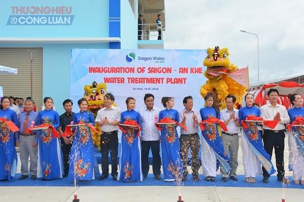 Gia Lai: Khánh thành Nhà máy nước Sài Gòn-An Khê công suất 9.500 m3/ ngày đêm - Hình 1