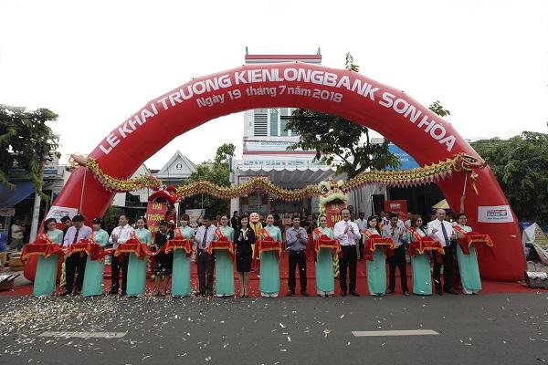 Kienlongbank đồng loạt khai trương 2 phòng giao dịch mới tại Phú Yên