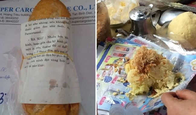 Dùng giấy báo gói xôi, bánh mì: Tưởng vô hại mà cực kì nguy hiểm