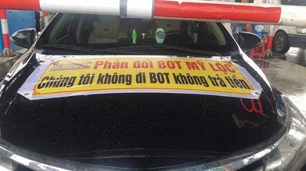 Nam Định: Yêu cầu bảo đảm trật tự tại trạm BOT Mỹ Lộc