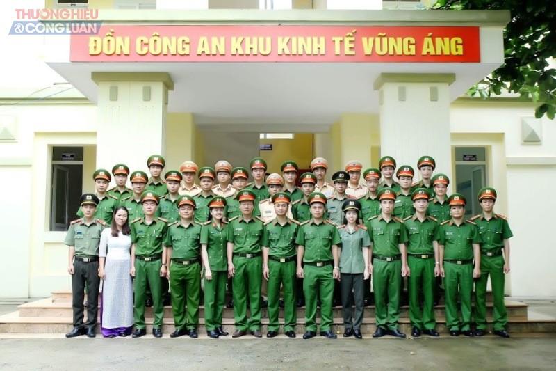Đồn Công an KKT Vũng Áng (Hà Tĩnh): Lá cờ đầu trong đấu tranh phòng chống  tội phạm - Hình 1