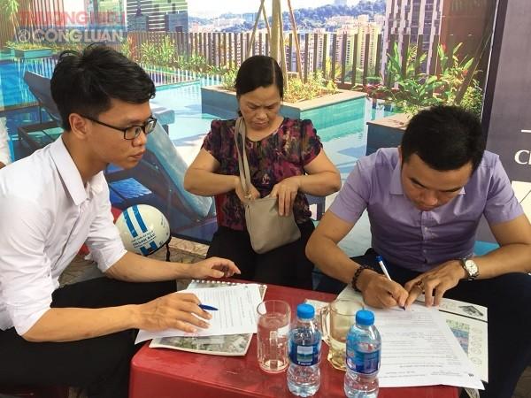 Dự án Aqua Park Bắc Giang: Chưa đầy đủ thủ tục đã nhận đặt cọc của khách hàng?