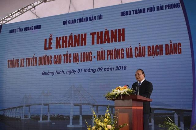 Quảng Ninh: Chính thức thông xe cây cầu 7000 tỉ và cao tốc Hạ Long Vân Đồn - Hình 2