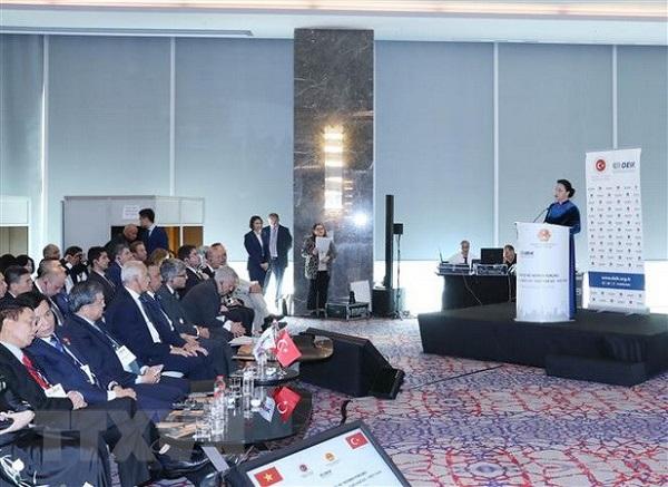 Chủ tịch Quốc hội dự Diễn đàn Kinh doanh và Đầu tư Thổ Nhĩ Kỳ-Việt Nam - Hình 1