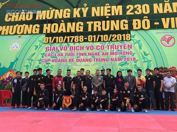 Nghệ An: Khai mạc giải vô địch võ cổ truyền các lứa tuổi năm 2018 - Hình 7