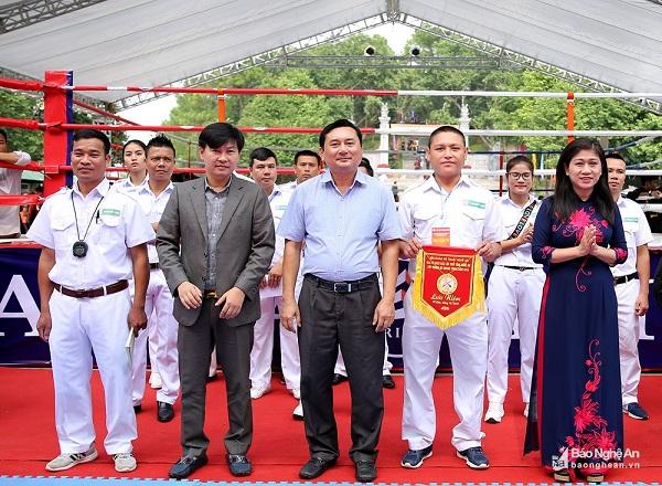Nghệ An: Khai mạc giải vô địch võ cổ truyền các lứa tuổi năm 2018 - Hình 1