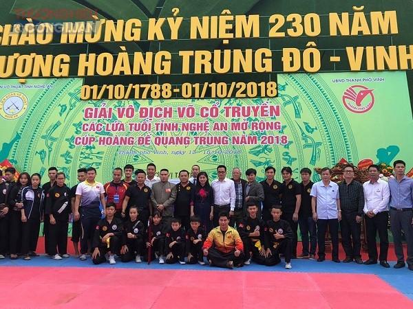 Nghệ An: Khai mạc giải vô địch võ cổ truyền các lứa tuổi năm 2018 - Hình 5