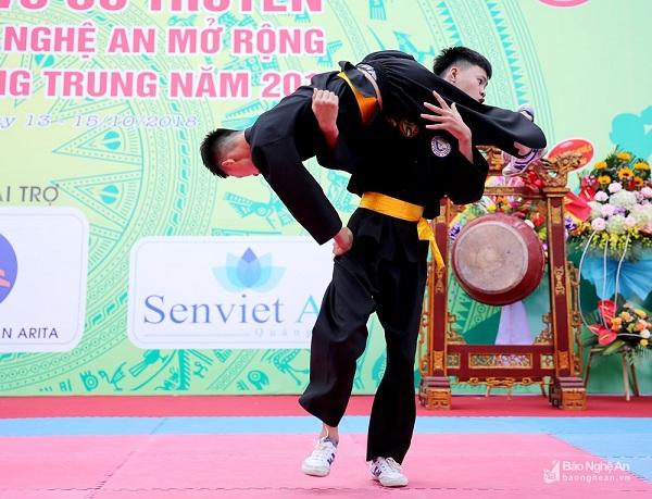 Nghệ An: Khai mạc giải vô địch võ cổ truyền các lứa tuổi năm 2018 - Hình 4