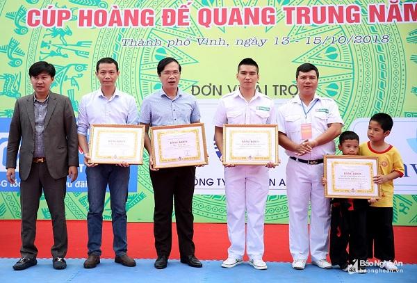 Nghệ An: Khai mạc giải vô địch võ cổ truyền các lứa tuổi năm 2018 - Hình 2