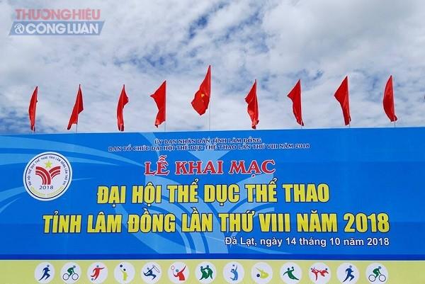 Lâm Đồng: 8000 người tham dự Đại hội thể dục thể thao của tỉnh lần thứ VIII năm 2018 - Hình 2