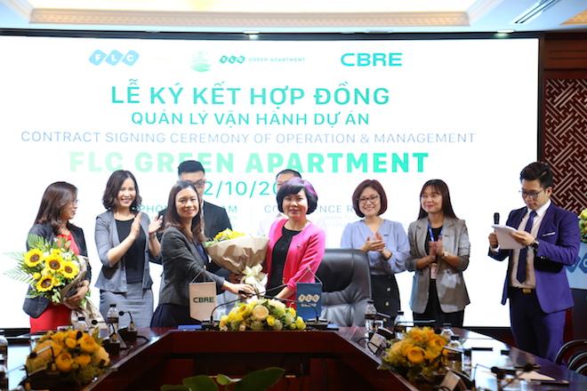 CBRE Việt Nam trở thành đơn vị quản lý vận hành dự án FLC Green Apartment - Hình 1
