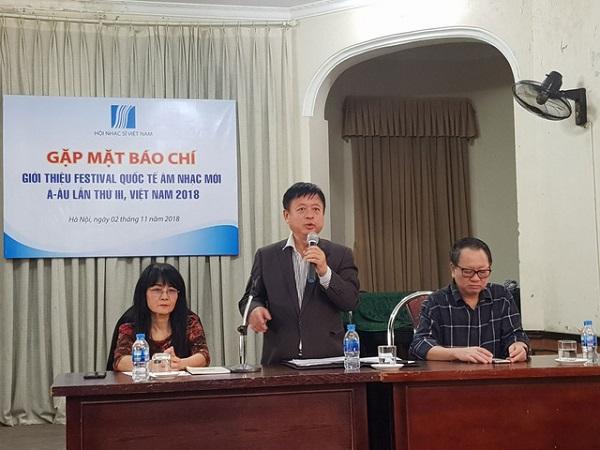 Festival quốc tế âm nhạc mới Á - Âu Việt Nam năm 2018 thu hút 200 nghệ sỹ tham dự - Hình 1