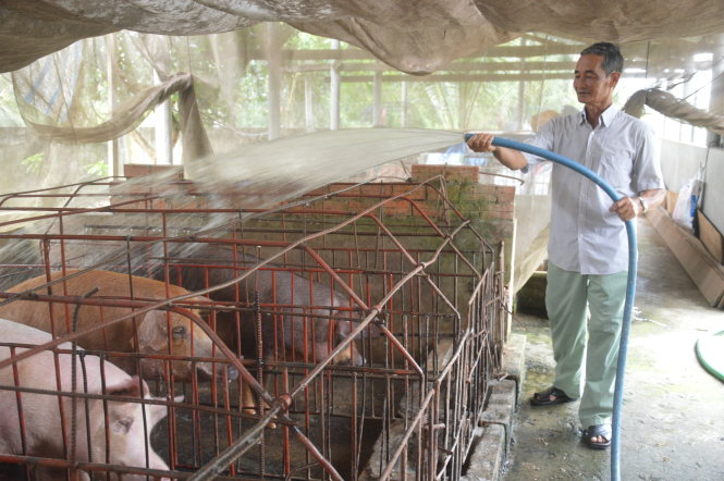 Lão nông 60 tuổi chuyên đi xây cầu miễn phí cho người nghèo ở Đồng Tháp - Hình 1