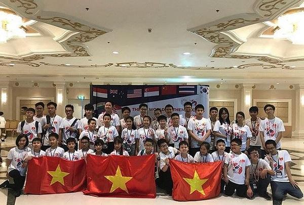 36 học sinh giành giải thưởng cao trong kỳ thi Vô địch Toán thế giới - Hình 1
