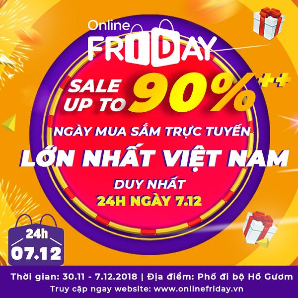 Khai mạc Ngày mua sắm trực tuyến - Online Friday 2018 - Hình 2