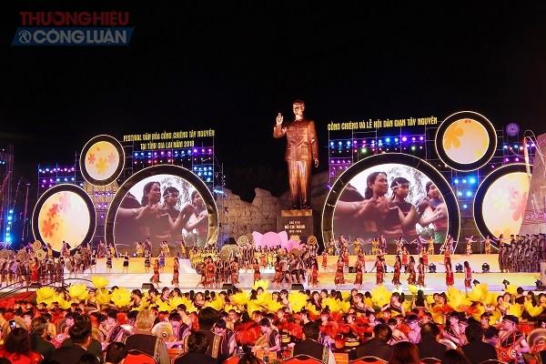 Khai mạc Festival văn hóa Cồng chiêng Tây Nguyên tại Gia Lai 2018: Hoành tráng - Ấn tượng – Bản sắc - Hình 1