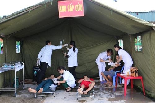 Hà Nội: Ngành Y tế triển khai ứng phó sự cố thiên tai và tìm kiếm cứu nạn - Hình 1