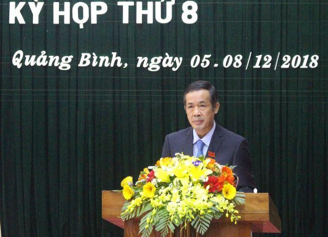 Tỉnh Quảng Bình có tân chủ tịch - Hình 1