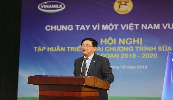 Sữa học đường Hà Nội: Đồng lòng Vì một Việt Nam vươn cao - Hình 1