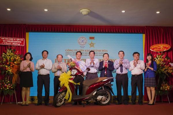 """Trao giải """"Sanest Khánh Hòa- niềm tự hào thương hiệu Việt Nam"""" tại Cần Thơ - Hình 1"""