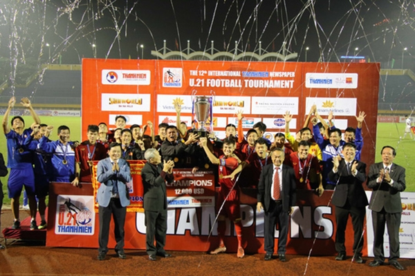 Đội U21 tuyển chọn Việt Nam vô địch giải U21 quốc tế - Hình 1