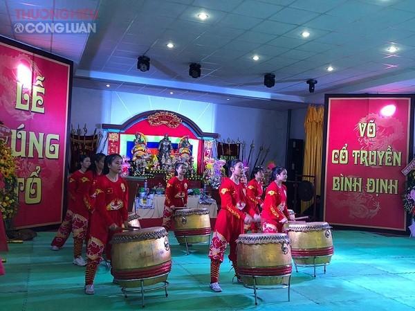 Trung tâm Võ thuật cổ truyền Bình Định tổ chức Lễ cúng tổ võ cổ truyền năm 2019 - Hình 1