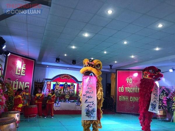 Trung tâm Võ thuật cổ truyền Bình Định tổ chức Lễ cúng tổ võ cổ truyền năm 2019 - Hình 2