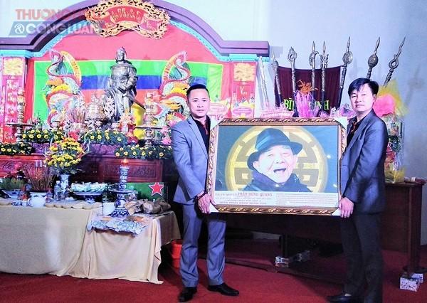 Trung tâm Võ thuật cổ truyền Bình Định tổ chức Lễ cúng tổ võ cổ truyền năm 2019 - Hình 7