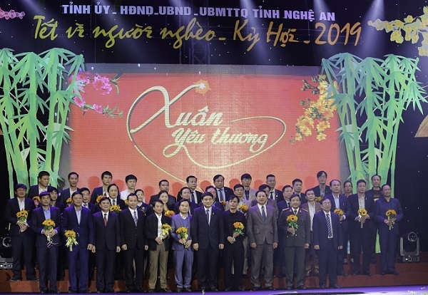 Nghệ An: Hơn 300 đơn vị, doanh nghiệp cá nhân đăng ký ủng hộ Tết vì người nghèo - Hình 1