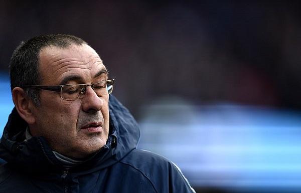 Chelsea thảm bại trước Manchester City, HLV Maurizio Sarri chấp nhận bị sa thải - Hình 1