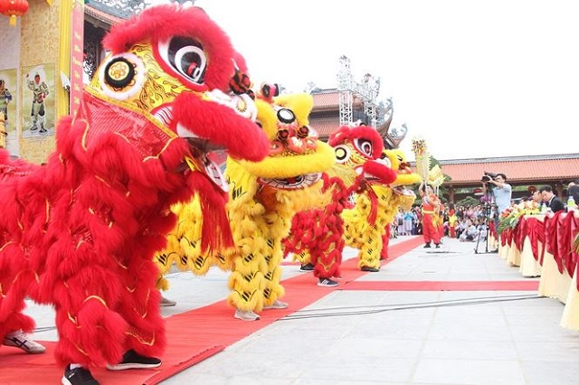 Quảng Ninh: Tưng bừng Khai hội Xuân chùa Ba Vàng 2019 - Hình 2
