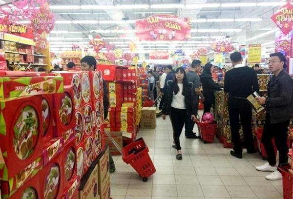 Hà Nội: Hàng hóa cung ứng ra thị trường Tết Nguyên đán 2019 đạt gần 29,4 nghìn tỷ đồng - Hình 1