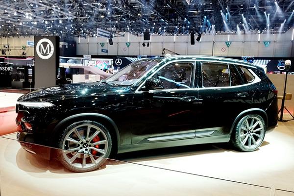 VinFast ra mắt mẫu xe SUV Lux phiên bản đặc biệt tại triển lãm Geneva Motor Show 2019 - Hình 1